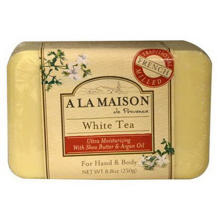 A La Maison de Provence, Hand&Body Bar Soap, White Tea 250g