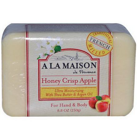 A La Maison de Provence, Honey Crisp Apple Bar Soap 250g