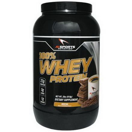 AI Sports Nutrition Anabolic Innovations, 100% Whey Protein, Mocha 918g