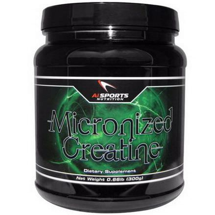 AI Sports Nutrition Anabolic Innovations, Micronized Creatine 300g