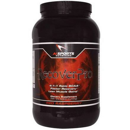 AI Sports Nutrition Anabolic Innovations, RecoverPro, Red Raspberry 1,000g