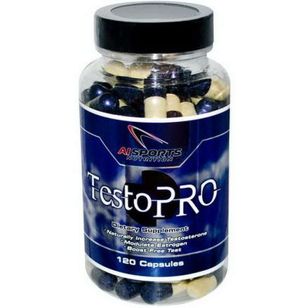 AI Sports Nutrition Anabolic Innovations, TestoPro, 120 Capsules