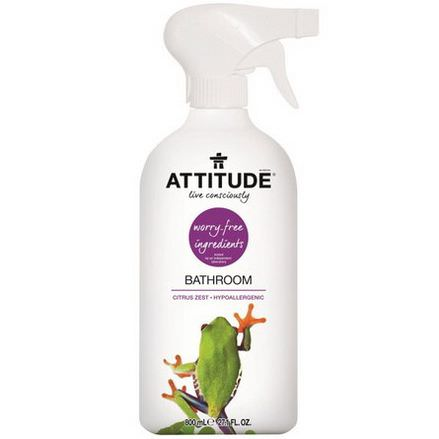 ATTITUDE, Bathroom, Citrus Zest 800ml