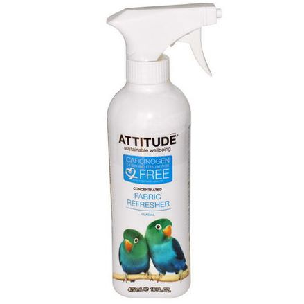 ATTITUDE, Concentrated Fabric Refresher, Glacial 475ml