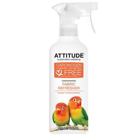 ATTITUDE, Concentrated Fabric Refresher, Passion 475ml
