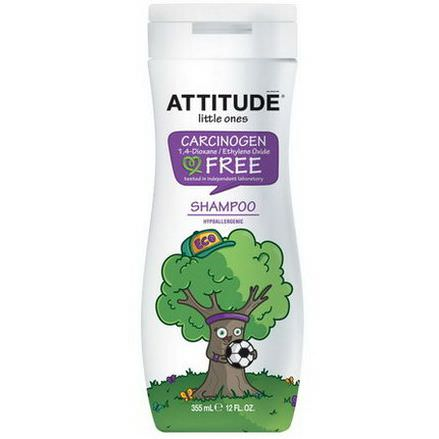 ATTITUDE, Little Ones, 2-in-1 Shampoo and Conditioner 355ml