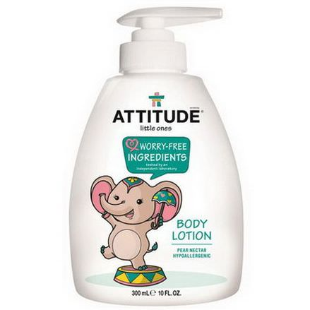 ATTITUDE, Little Ones, Body Lotion, Pear Nectar 300ml