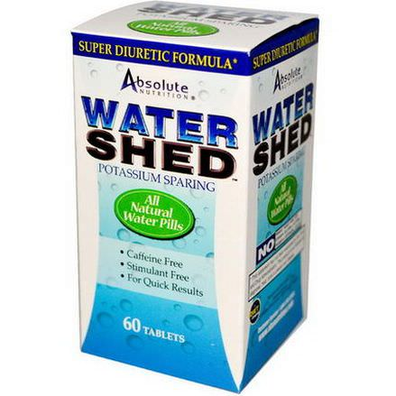 Absolute Nutrition, Watershed, 60 Tablets