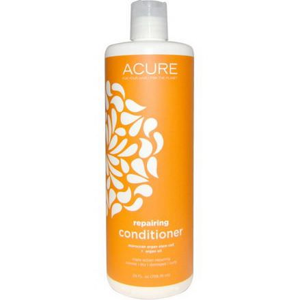Acure Organics, Repairing Conditioner, Moroccan Argan Stem Cell Argan Oil 709.76ml