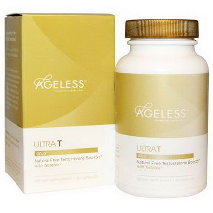 Ageless Foundation Laboratories, UltraT Gold, 60 Capsules