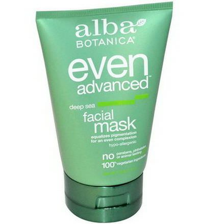 Alba Botanica, Even Advanced Deep Sea Facial Mask 113g