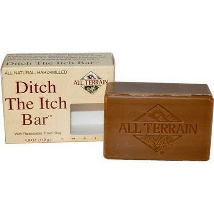 All Terrain, Ditch The Itch Bar Soap 112g
