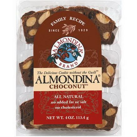 Almondina, Choconut, Almond and Chocolate Biscuits 113g