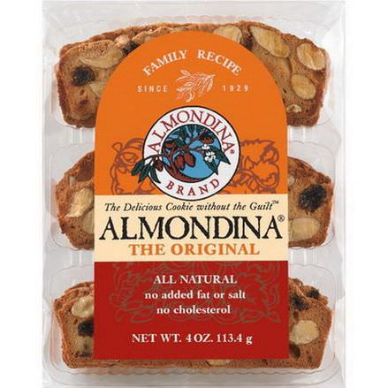 Almondina, The Original Almond Biscuits 113g