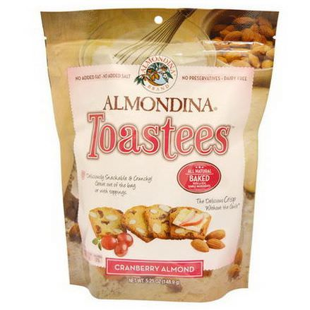 Almondina, Toastees, Cranberry Almond 148.9g