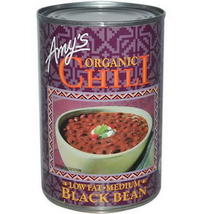 Amy's, Organic Chili, Black Bean, Low Fat, Medium 416g