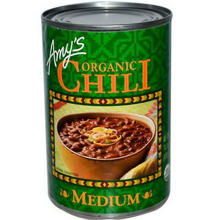 Amy's, Organic Chili, Medium 416g