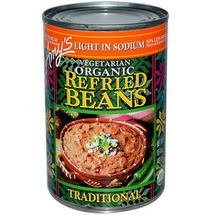 Amy's, Organic, Refried Beans, Traditional, Vegetarian, Light in Sodium 437g