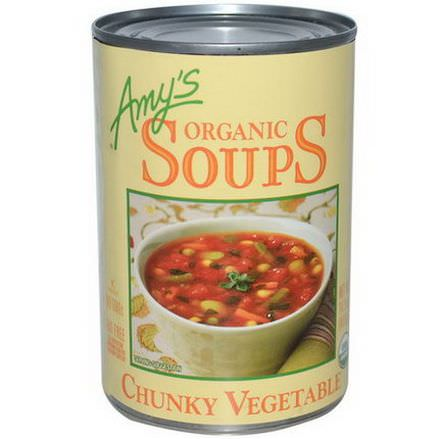 Amy's, Organic Soups, Chunky Vegetable 405g