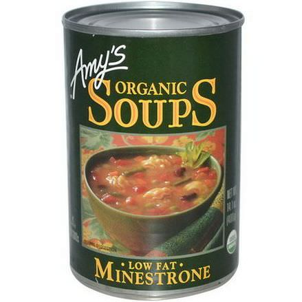 Amy's, Organic Soups, Low Fat Minestrone 400g