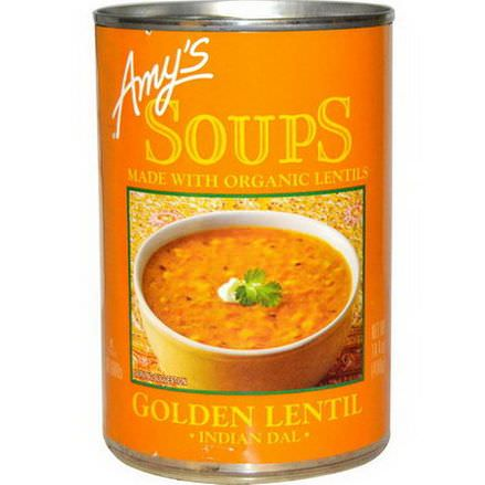 Amy's, Soups, Golden Lentil, Indian Dal 408g
