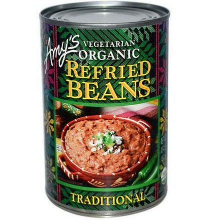 Amy's, Vegetarian Organic Refried Beans, Traditional 437g