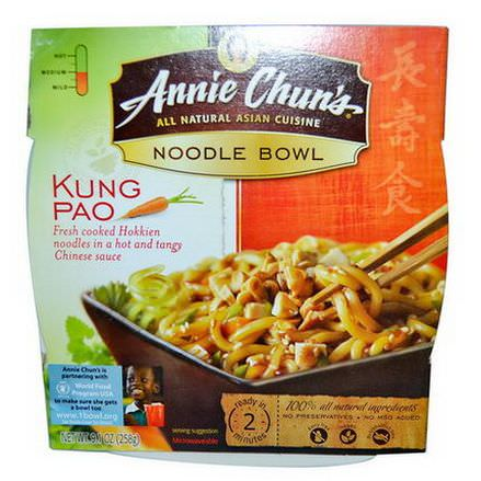 Annie Chun's, Noodle Bowl, Kung Pao, Medium 258g
