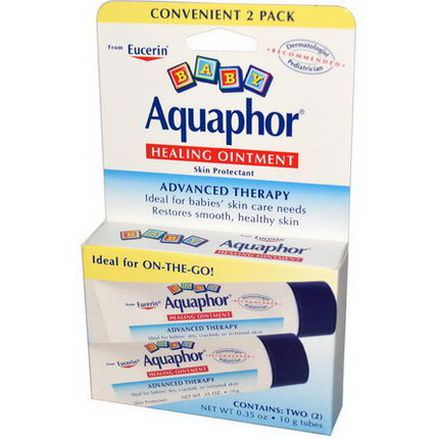 Aquaphor, Baby, Healing Ointment, 2 Pack 10g Each