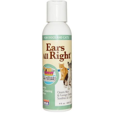 Ark Naturals, Ears All Right, Gentle Ear Cleaning Lotion 118.3ml