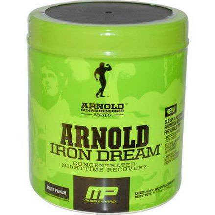 Arnold, Iron Dream, Concentrated Nighttime Recovery, Fruit Punch 168g