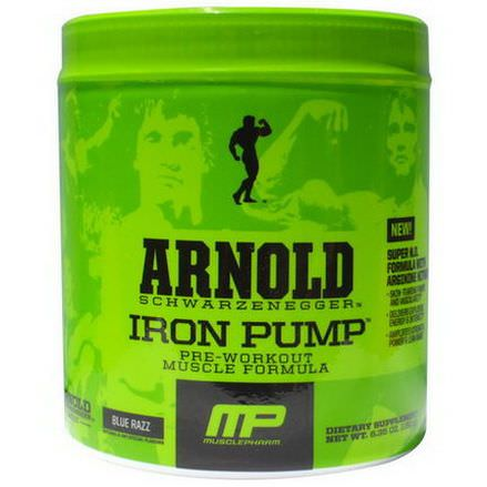Arnold, Iron Pump, Blue Razz 180g