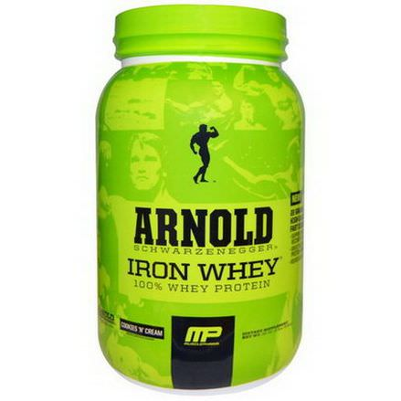 Arnold, Iron Whey, Cookies'N'Cream 908g