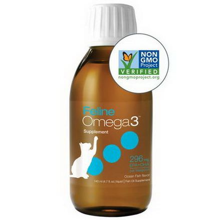 Ascenta, Feline Omega3, Ocean Fish Flavor 140ml Liquid