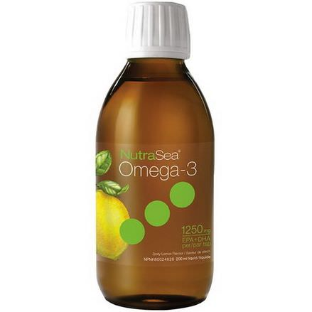 Ascenta, Nutra Sea, Omega-3, Zesty Lemon Flavor 200ml