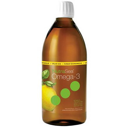 Ascenta, NutraSea, Omega-3, Zesty Lemon Flavor 500ml