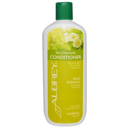Aubrey Organics, Blue Chamomile Conditioner, Classic Blue Chamomile Scent, Normal 325ml