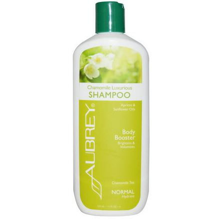 Aubrey Organics, Chamomile Luxurious Shampoo, Body Booster, Normal 325ml