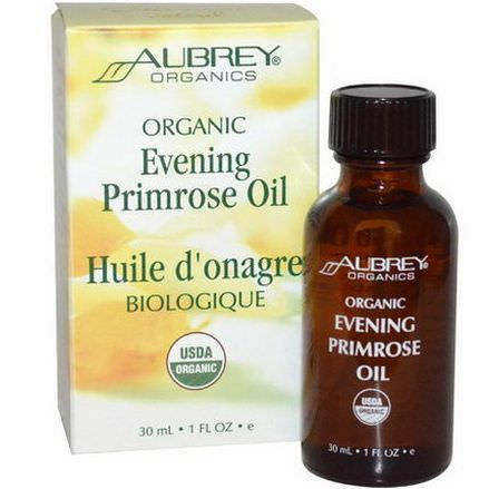 Aubrey Organics, Evening Primrose Oil 30ml