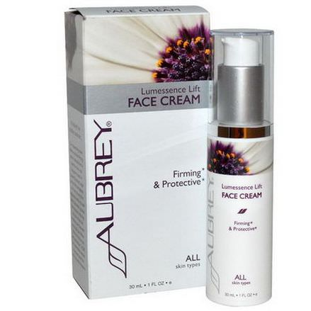 Aubrey Organics, Lumessence Lift Face Cream, All Skin Types 30ml