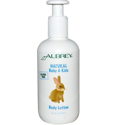 Aubrey Organics, Natural Baby&Kids Body Lotion 237ml