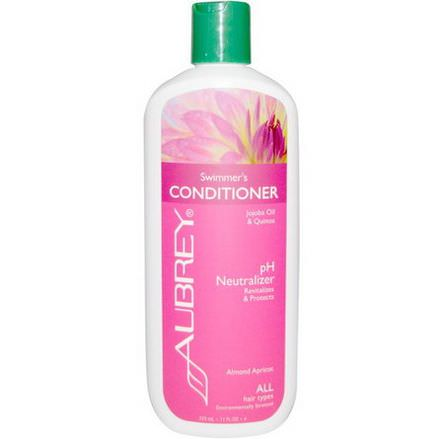 Aubrey Organics, Swimmer's Conditioner, pH Neutralizer, All Hair Types 325ml