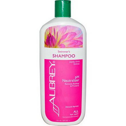 Aubrey Organics, Swimmer's Shampoo, pH Neutralizer, All Hair Types 473ml