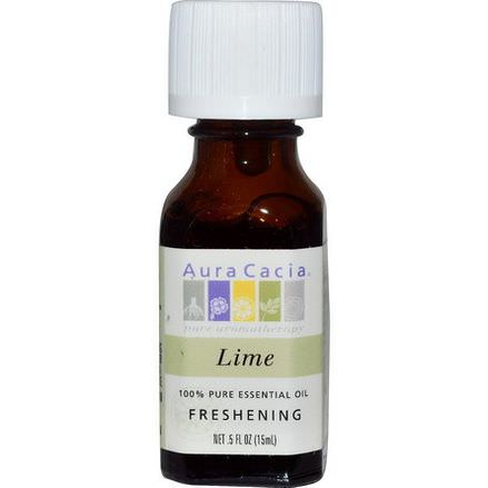 Aura Cacia, 100% Pure Essential Oil, Lime 15ml