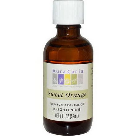 Aura Cacia, 100% Pure Essential Oil, Sweet Orange 59ml