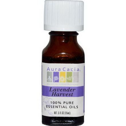 Aura Cacia, 100% Pure Essential Oils, Lavender Harvest 15ml