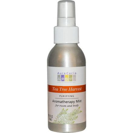 Aura Cacia, Aromatherapy Mist, Tea Tree Harvest 118ml