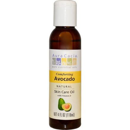 Aura Cacia, Natural Skin Care Oil, Comforting Avocado 118ml