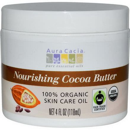 Aura Cacia, Nourishing Cocoa Butter 118ml