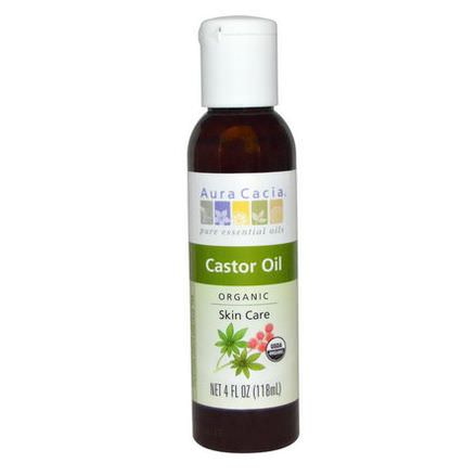 Aura Cacia, Organic, Skin Care, Castor Oil 118ml