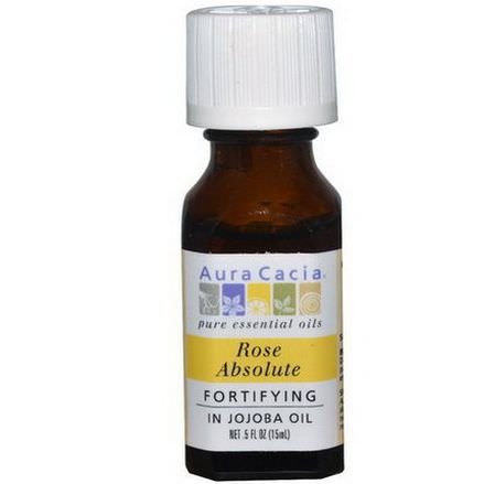 Aura Cacia, Rose Absolute, In Jojoba Oil 15ml